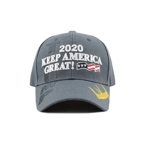 010 Keep America Great Grey Baseball Cap
