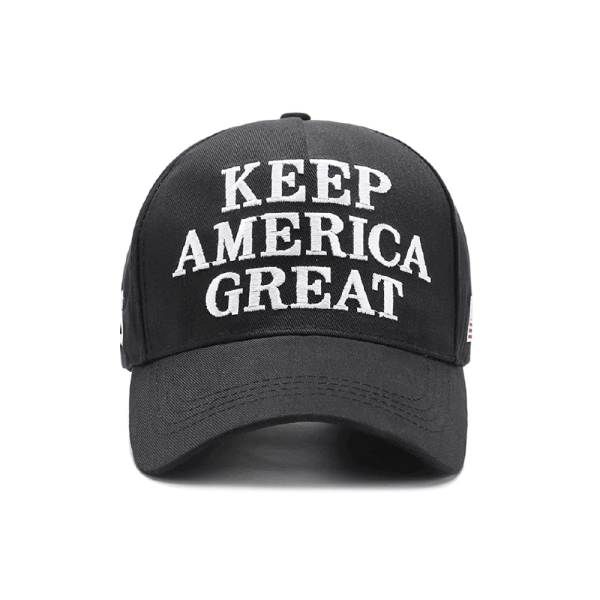 011 Keep America Great Black Baseball Cap