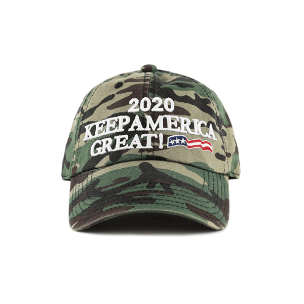 012 Keep America Great 3D Green Camo Hat