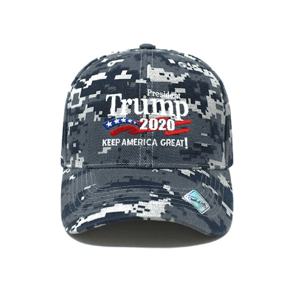 013 Keep America Great Blue Camo Hat
