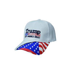 016 Trump 2020 Keep America Great White Baseball Cap