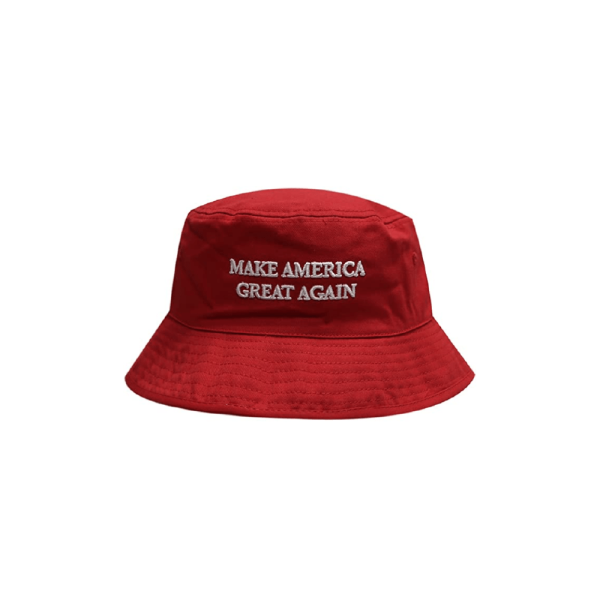 018 Make America Great Again Slogan Bucket Hat