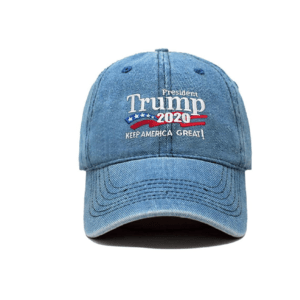 022 Keep America Great Denim Blue Baseball Cap