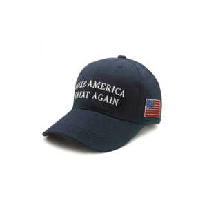 029 Make America Great Again Baseball Cap with USA Flag