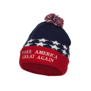 033 Make America Great Again Beanie Hat, Embroidered USA