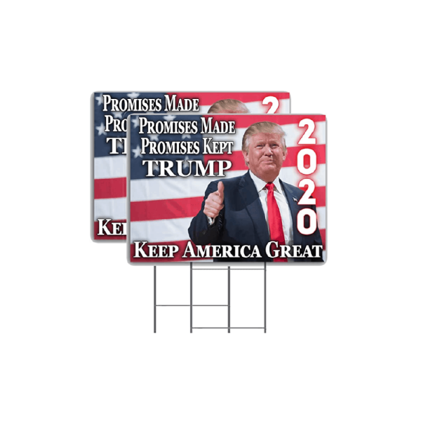 Donald Trump Keep America Great Yard Sign