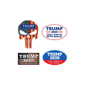 057 Donald Trump 2020 Patriotic Bumper Stickers