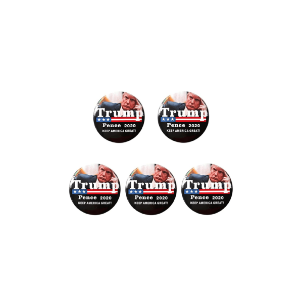 065 Keep America Great Button Pin Badges