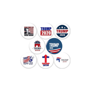 067 Donald Trump 2020 Pinback Button Badges