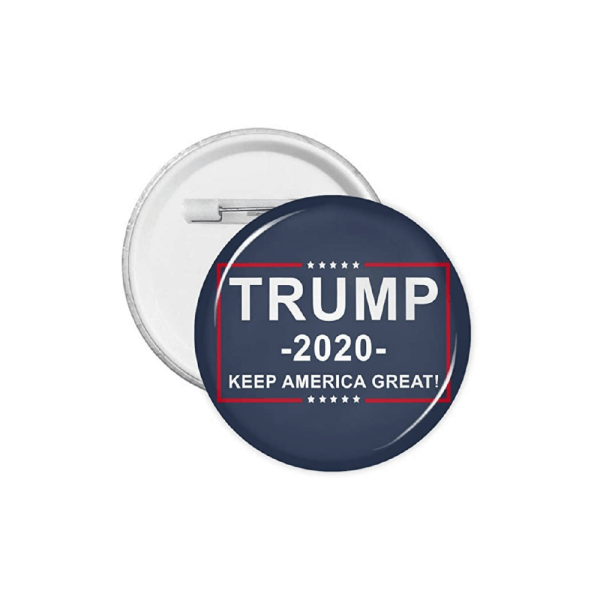 072 Donald Trump 2020 Campaign Keep America Great Pinback Button Badge