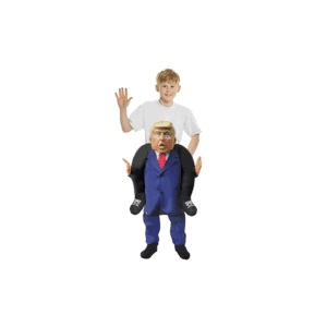 073 Donald Trump Piggyback Kids Costume
