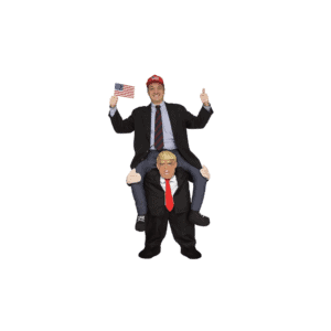 074 Ride-On President Trump Mascot Costume