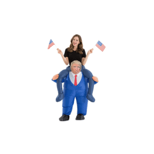 077 Inflatable Ride-On Donald Trump Costume