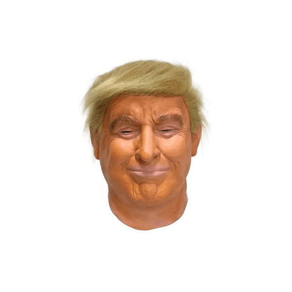 081 Realistic Donald Trump Mask Celebrity Latex Mask Halloween Costume Cosplay Party Fancy Dress