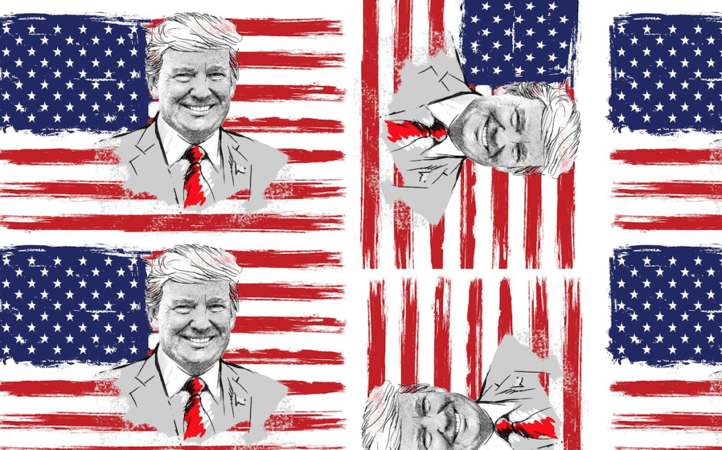 Why Should You Buy From Etsy? - Donald Trump USA Flag Fabric on Etsy