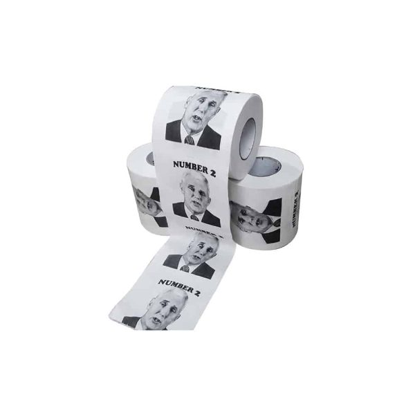 082 Buy Mike Pence Novelty Toilet Roll