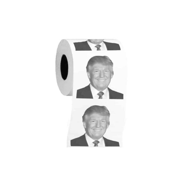 099 Donald Trump Smiling Toilet Paper Roll