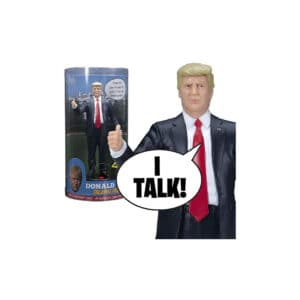 Talking Donald Trump Figurine - 17 Phrases