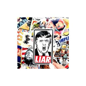 Impeach Donald Trump - 55 Piece Sticker Pack