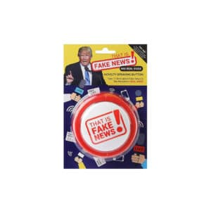 Donald Trump Fake News Speaking Button