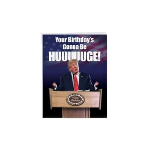 140 Donald Trump Birthday Cards