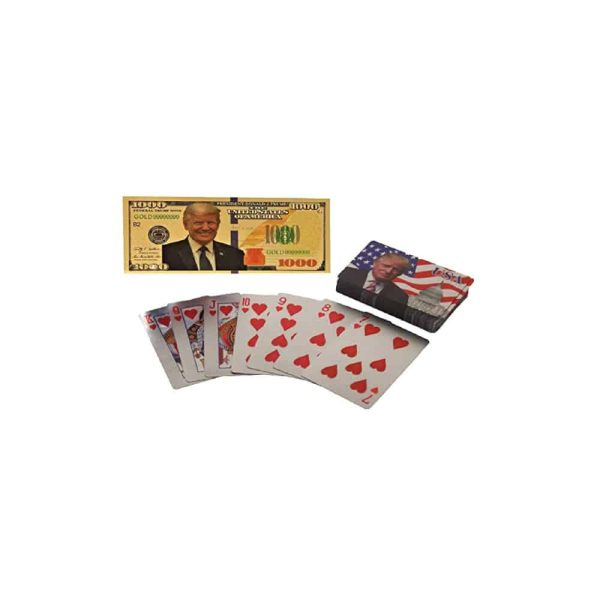 Donald Trump Poker Playing Cards