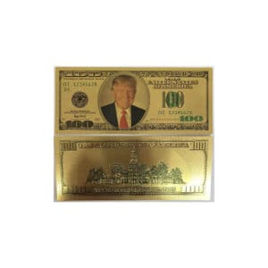 159 Donald Trump 100 Dollar Gold Bill