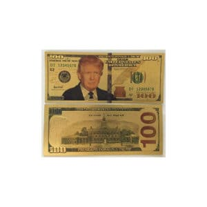 169 President Donald Trump 100 Dollar Bill