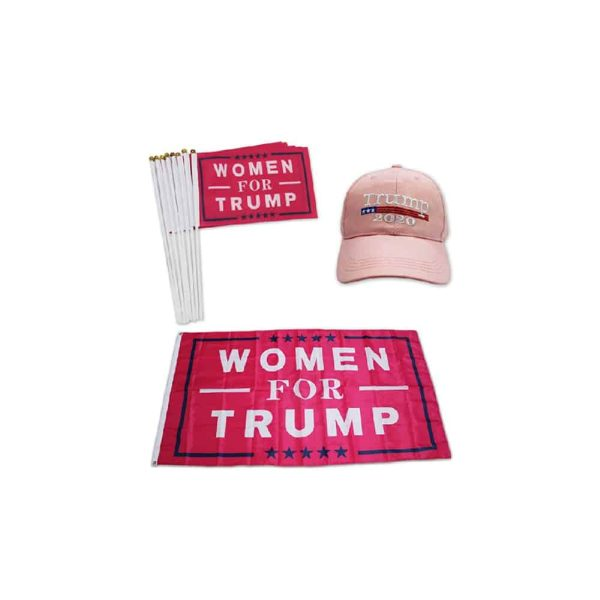 Trump 2020 Campaign Flags - Twin Pack