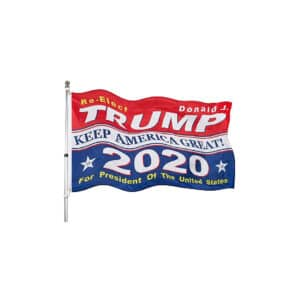 Re-Elect Trump - 2020 Presidential Campaign Flag
