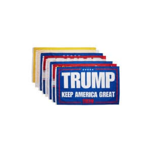 Trump Keep America Great 2020 Flags - 8 Pcs
