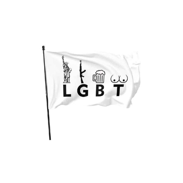 Donald Trump - LGBT Alternative Flag