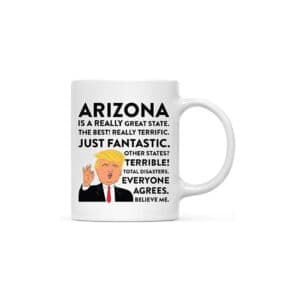 Arizona Donald Trump Coffee Mug