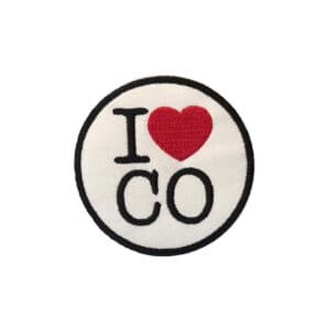 I Love Colorado, Sew On Patch