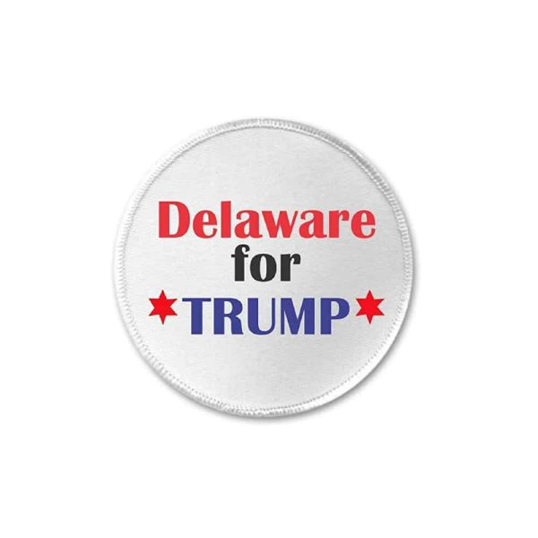 Delaware for Trump, Sew On Patch