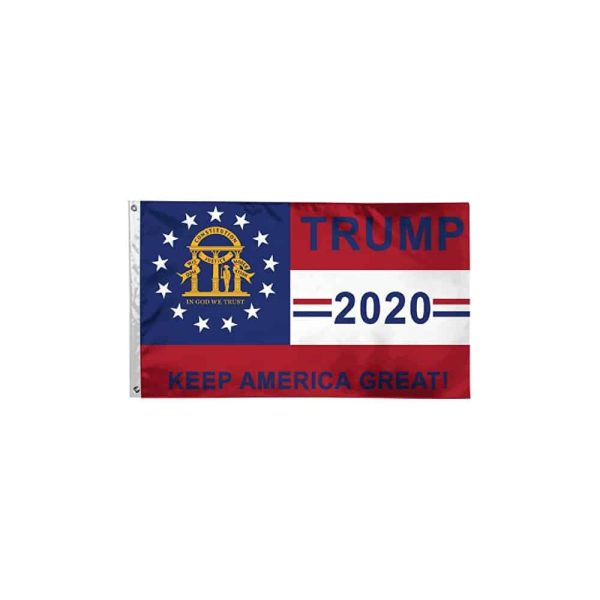 Trump 2020 Georgia Flag