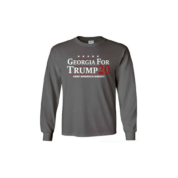 Georgia for Trump, 2020 Campaign Long Sleeve Shirt