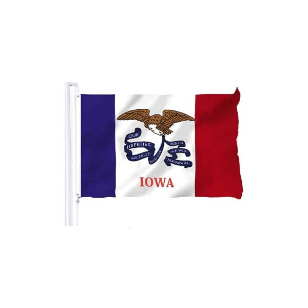 Iowa State Flag, 3x5ft