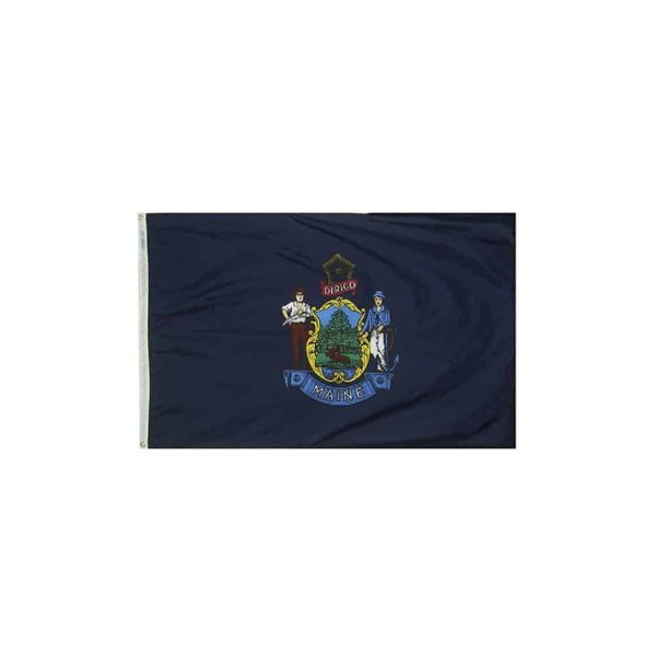 Maine State Flag 3x5ft