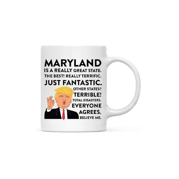 Maryland Donald Trump Coffee Mug
