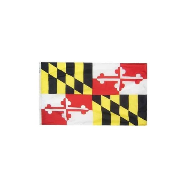 Maryland State Flag, 3x5ft