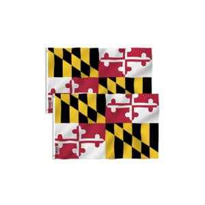 Maryland State Flag, Twin Pack