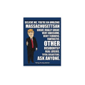 Amazing Massachusettsan, Donald Trump Planner