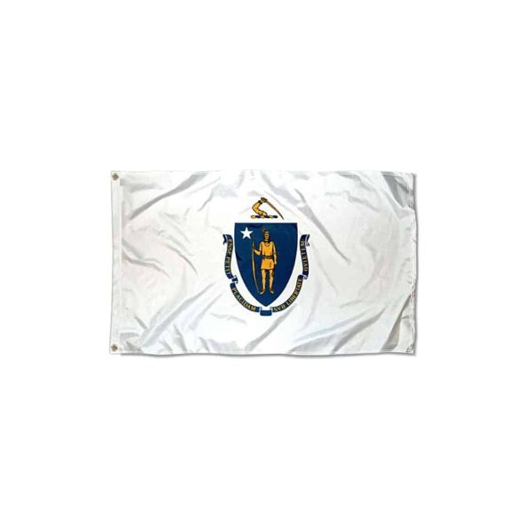 Massachusetts State Flag, 3x5ft