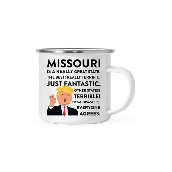Missouri Donald Trump Campfire Coffee Mug