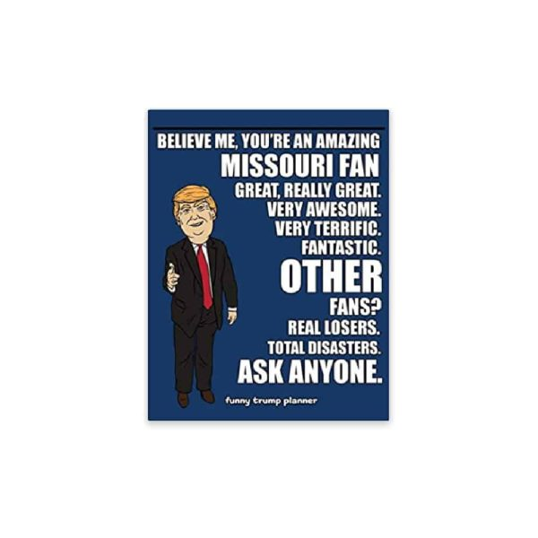 Amazing Missouri Fan, Donald Trump Planner