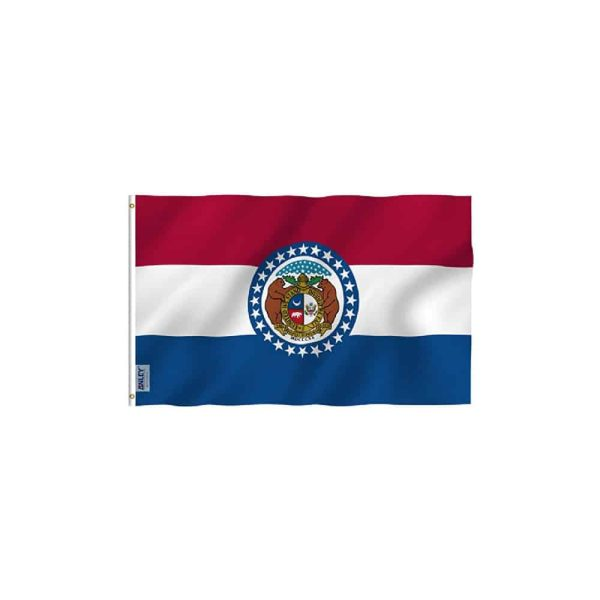Missouri State Flag Vivid Color
