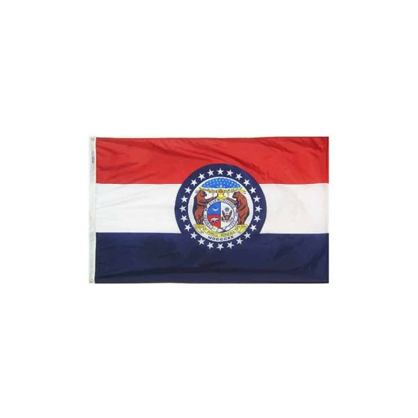 Missouri State Flag 3x5ft Nylon