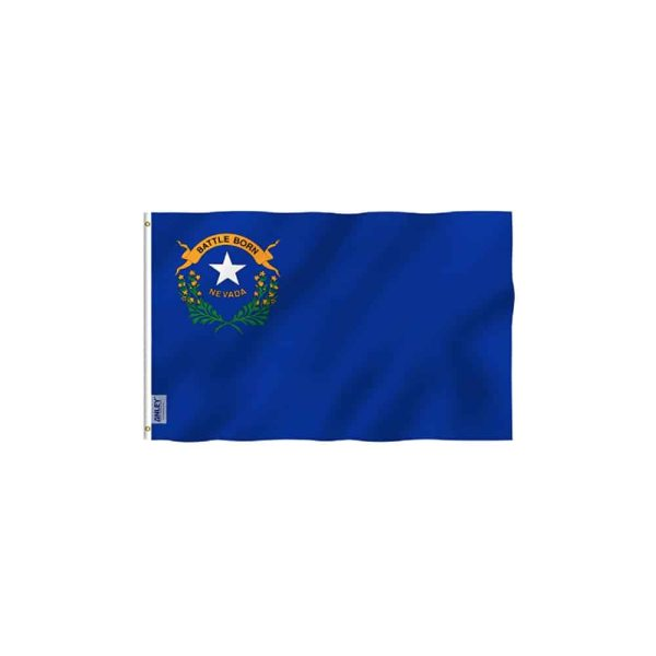 Nevada State Flag, Vivid Color, 3x5ft