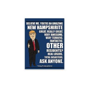 Amazing New Hampshirite, Donald Trump Planner